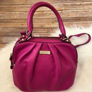 Kate Spade pink purse with dust bag